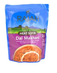 Rajah Ready Heat & Stir Dal Makhani | Buy Online at the Asian Cookshop